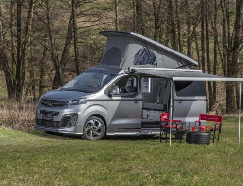 The Wellhouse Vauxhall Campervan