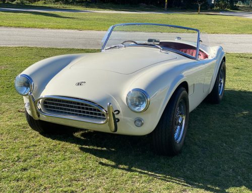 Fancy an electric AC Cobra?