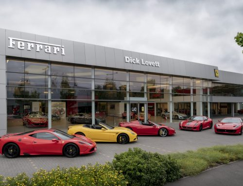 Ferrari fresh-up for Dick Lovett