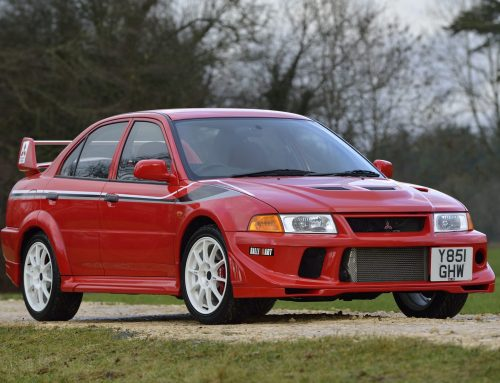 20th birthday of the Mitsubishi EVO
